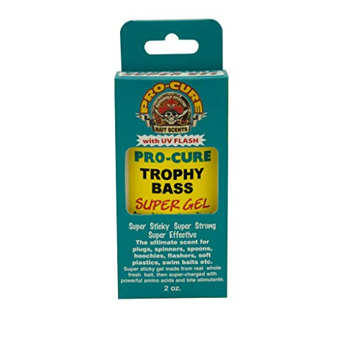 Pro-Cure Trophy Bass Super Gel, 60 ml von Pro-Cure