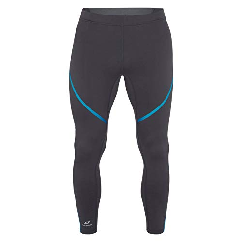 Pro Touch Herren Striker Tights, Anthracite/Blue, XL von Pro Touch