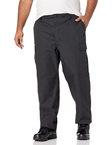 Propper Herren BDU Trouser – Button Fly Hosen, schwarz, X-Small Long/Regular von Propper