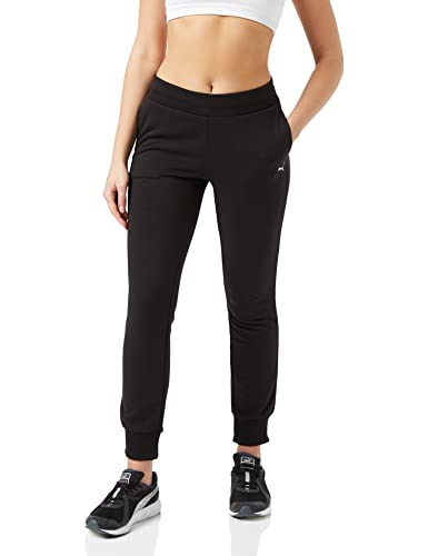 PUMA Damen ESS Sweat Pants TR cl Hose, Cotton Black, XL von PUMA