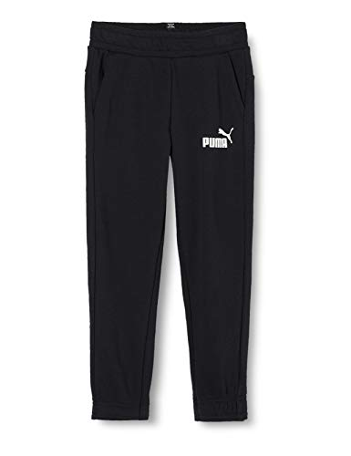Puma Jungen ESS Logo Sweat Pants TR cl B Hose, Cotton Black, 140 von Puma
