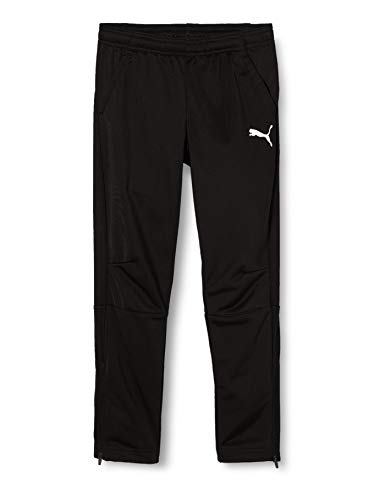 PUMA Kinder LIGA Training Pants Core Jr Hose, Black White, 176 von PUMA