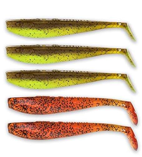 Quantum Q-Paddler Power Packs Allround Mix, 3X pumpkinseed Chart. + 2X original appleseed, 10 cm von Quantum