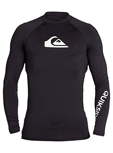Quiksilver™ All Time Long Sleeve UPF 50 Rash Vest Männer von Quiksilver