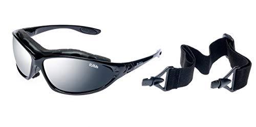 Kitesurfen Ravs SPORTBRILLE Skibrille B/ÜGEL und SOFTBAG RADBRILLE Sonnenbrille mit Band