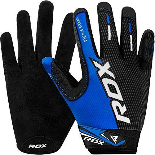 ac7ff06c81664f RDX Fitness Handschuhe Gym Wettbewerb Gewichtheben Bodybuilding Sports  Training Workout Gloves