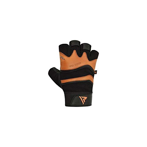 RDX S15 Trainingshandschuhe Gym Gloves, Tan, XL von RDX