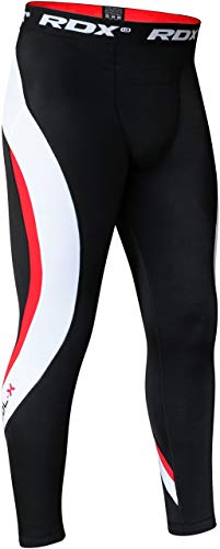 RDX Kompressionshose Tight Lang Base Layer Fitness Laufhose Funktionswäsche Fitness Leggings Training Hose (MEHRWEG) von RDX