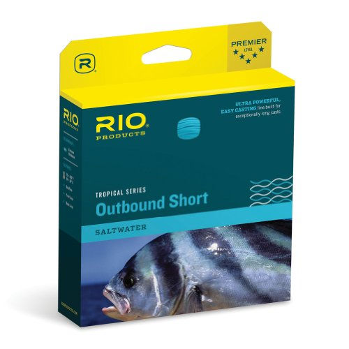 RIO Products Tropical Outbound Fliegenschnur, Fly Line, Sand/Seegras, 330gr von RIO PRODUCTS