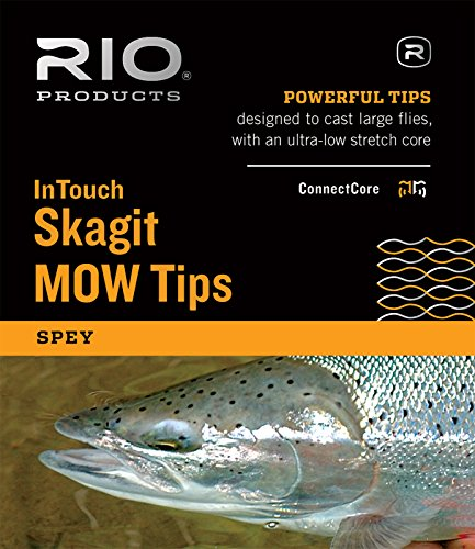 Rio Fly Fishing InTouch Skagit MOW, Extra Heavy Tip, 2.5' T-17/7.5' Fishing Line, Black/Gray von RIO PRODUCTS