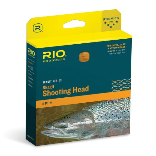 Rio Fly Fishing Fly Line Skagit Maxi-Head Angelschnur, 650 g, Blaugrün/Orange von RIO Products