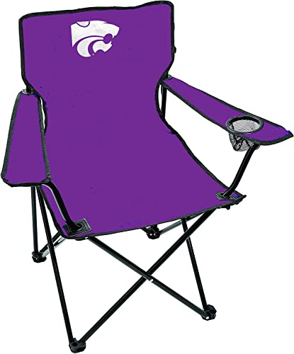 Rawlings NCAA Gameday Elite Lightweight Folding Tailgating Chair, with Carrying Case, Kansas State Wildcats von Rawlings