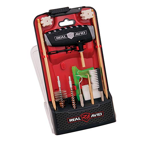 RealAvid Unisex-Adult Gun Boss Pro AR15 Cleaning Kit, Clear red, no Size von RealAvid