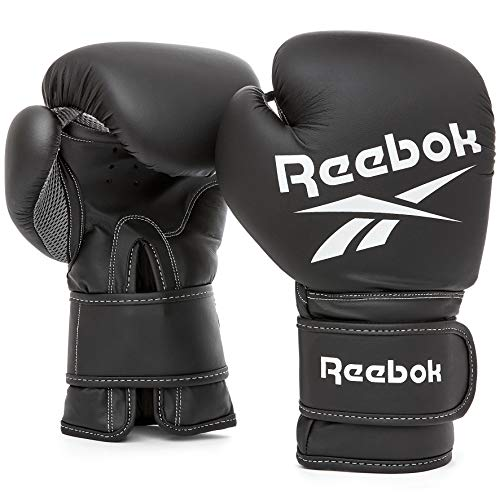 Retail Boxing Gloves - 10oz Black von Reebok