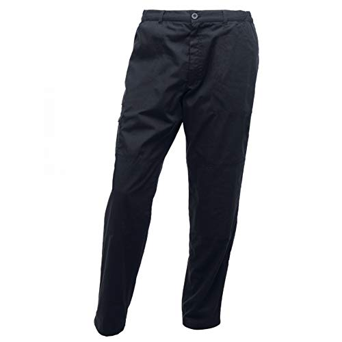 "Regatta Herren Professional Pro Cargo Hardwearing Water Repellent Multi Pocket Trousers Hose, Navy, Size: 32"" von Regatta"