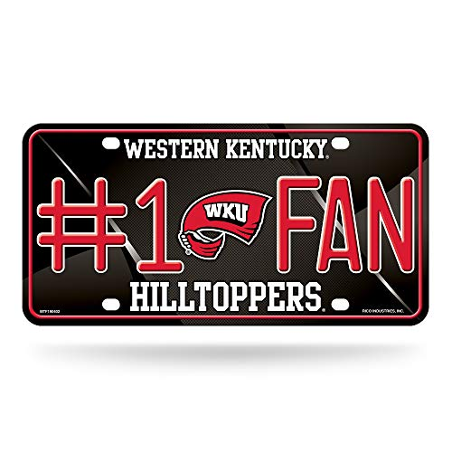 "Rico Industries NBA #1 Fan Metall Kennzeichenanhänger, 1 Fan Metal License Plate Tag, schwarz, 6"" x 12"" von Rico Industries"