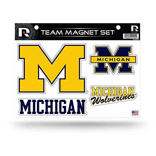 "Rico Industries NCAA Die Cut Team Magnetset Bogen, blau, 11"" x 8.5"" x 25"" von Rico Industries"