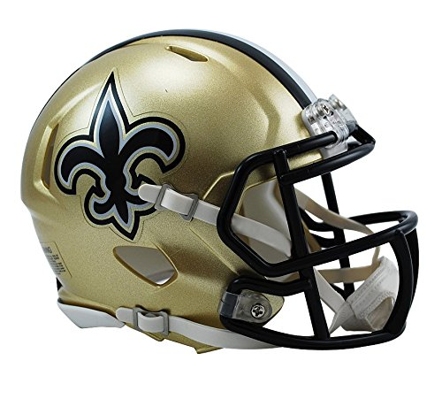 Riddell New Orleans Saints Speed Mini Helm von Riddell