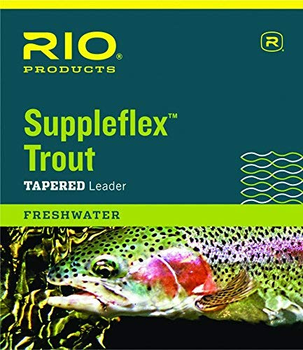 Rio Angeln Produkte suppleflex Trout Leaders, 3 Pack, 12ft - 3X - 3 Pack von Rio Fishing Products