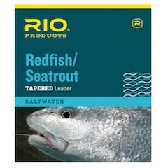 Rio Fishing Products Rio Rotbarsch/Seatrout Leader 9 ft, 3 Stück, 9ft - 25lb - 3 Pack von Rio Fishing Products