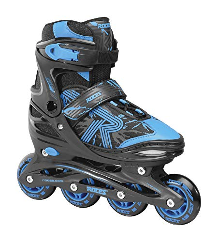 Roces Jungen Jokey 3.0 Boy Inline-Skates, Black-Astro Blue, 26/29 von Roces