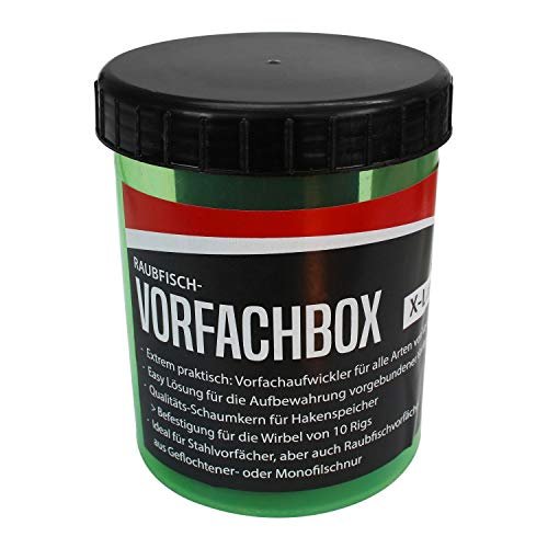 Roy Fishers Raubfisch-Vorfachbox X-Large von Roy Fishers