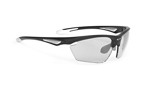 Rudy Project Stratofly Glasses Black Gloss - ImpactX Photochromic 2 Black 2019 Fahrradbrille von Rudy Project