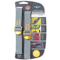 SEATOSUMMIT Tie Down Accessory Strap 20mm- Alloy buckle von SEATOSUMMIT