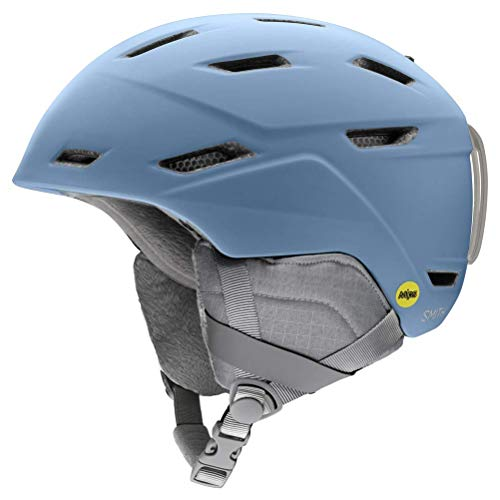 SMITH (SMIZD) Kinder Prospect JRMIPS Helm mit EPS Schaum, MT Smokey Blue, S-M / 48-56 von SMITH (SMIZD)