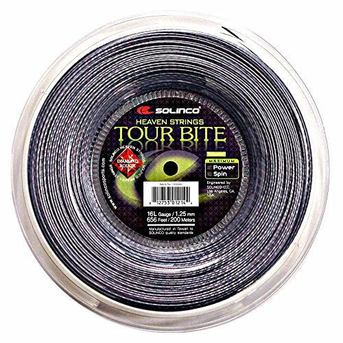 Solinco Tour Bite Diamond Rough Rolle 200 m 1,25 mm von Solinco