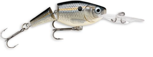 SOUTH BEND Rapala Jointed Shad Rap (Silber Shad) von SOUTH BEND