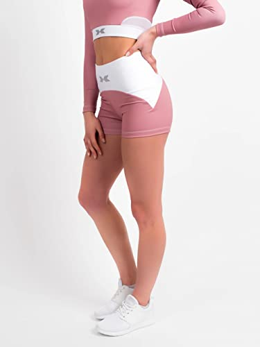SWEDISH FALL LIFTING ATHLETES Damen Tights, Rosa, L von SWEDISH FALL LIFTING ATHLETES
