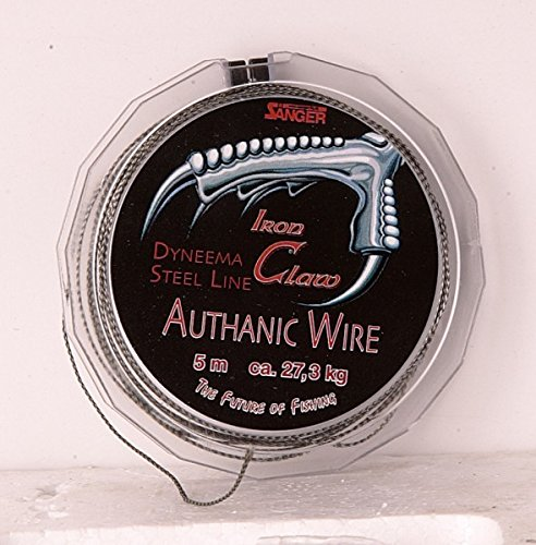 Iron Claw Authanic Wire 10m-17 Kg von Sänger Top Tackle Systems