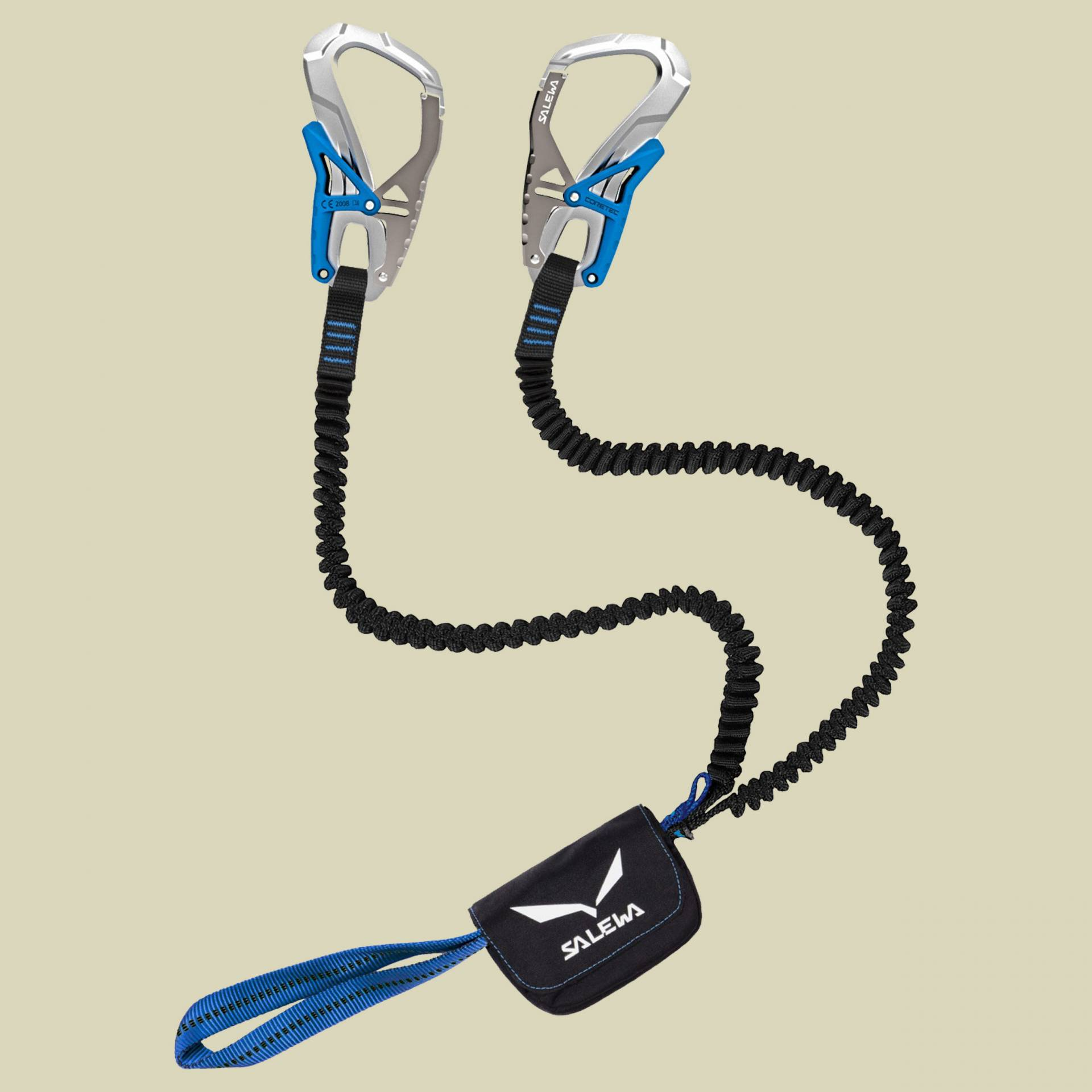 Salewa Set Via Ferrata Ergo Core Klettersteigset  Farbe: silver-royal blue von Salewa