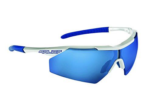 Salice 012RW Sonnenbrille, Türkisblau/RW Rot