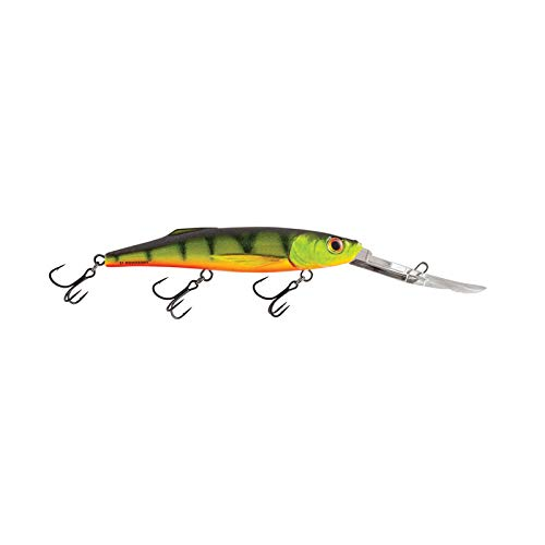 Salmo Perch Deep Runner Hot Perch 8cm 14g Wobbler Hecht Zander Barsch Forelle