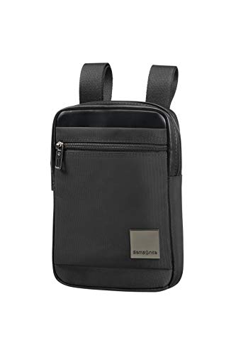 SAMSONITE Hip-Square - Tablet Cross-Over Umhängetasche, 23 cm, 2 L, Black von Samsonite
