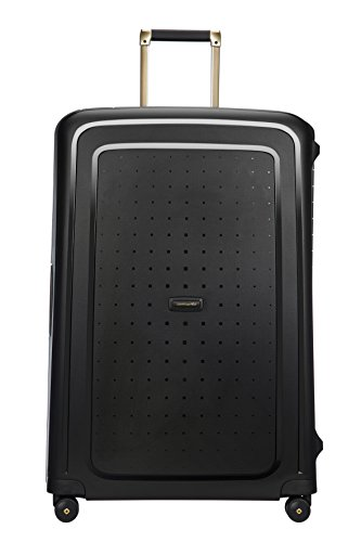 SAMSONITE S'Cure DLX Spinner, 5 KG Koffer, 81 cm, 138 L, Black/Gold Deluscious von Samsonite