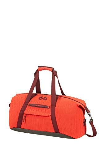 Samsonite Neoknit - Reisetasche S, 55 cm, 44 L, Orange (Fluo Red/Port) von Samsonite