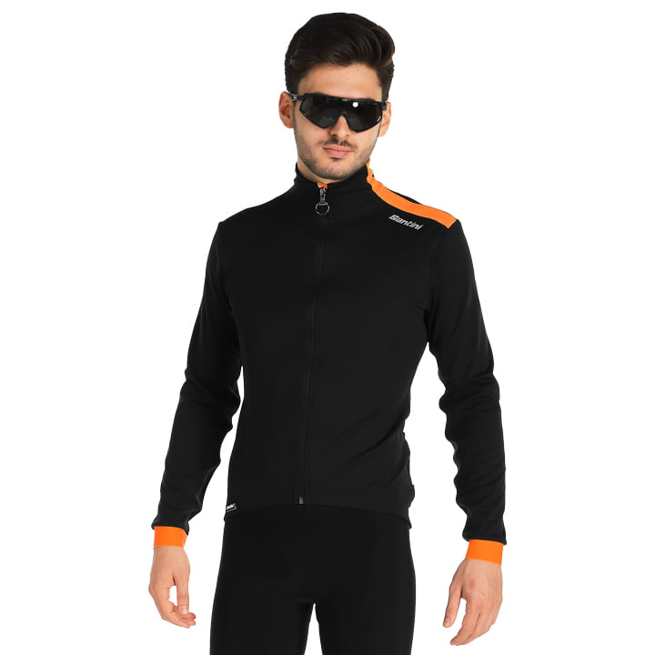 Santini Vega Xtreme Winterjacke Herren Fluo orange 2020 wasserdichte Jacke