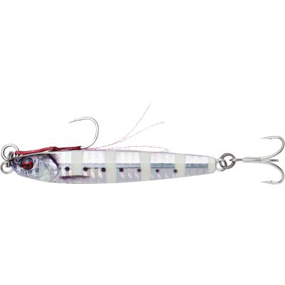 Savage Gear 3D Jig Minnow 20g 7.5cm Zebra Glow von Savage Gear
