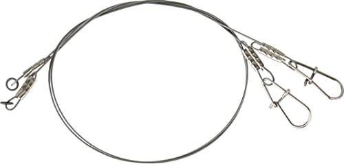 Hechtvorf/ächer zum Spinnfischen Savage Gear Titanium Traces Titanvorfach 2 Titanvorf/ächer zum Spinnangeln auf Hechte /& Zander