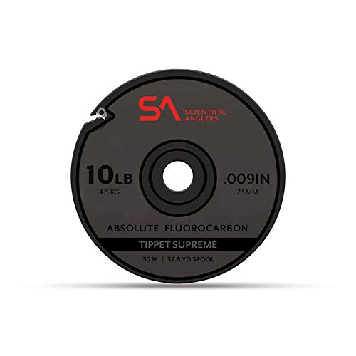 Scientific Anglers Absolute Fluorocarbon Supreme Tippet (4,5 kg) von Scientific Anglers