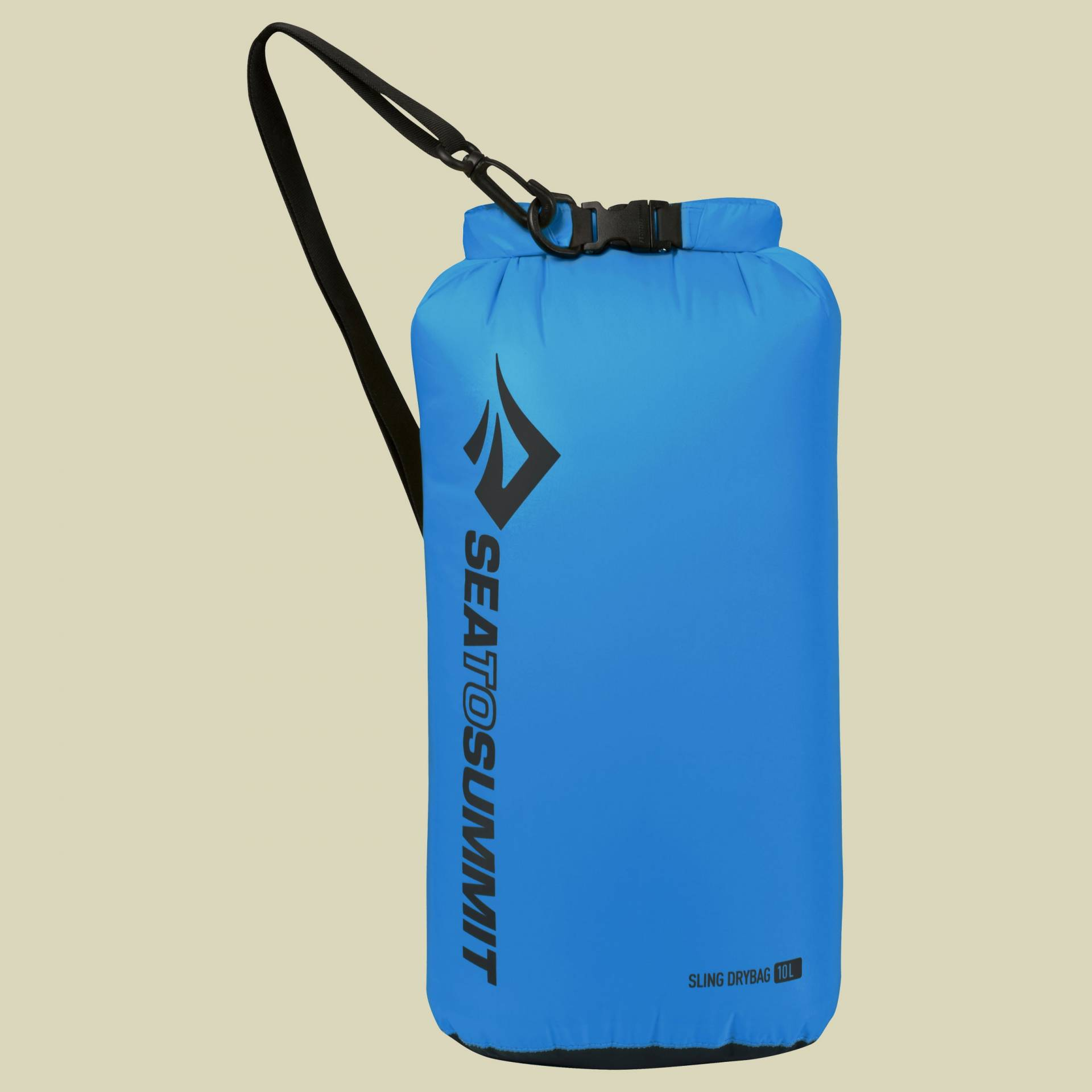Sea to Summit Lightweigt Sling Dry Bag Packsack mit Schulterriemen/Umhängetasche Volumen 10 blue von Sea to Summit