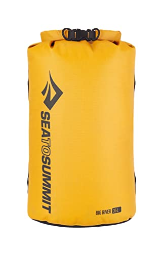 Sea to Summit Packsack Big River Dry 35 Liter gelb von Sea to Summit