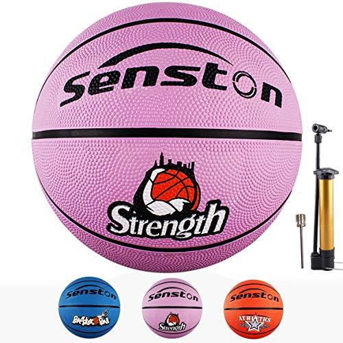 Senston PU Indoor//Outdoor Basketball Gr/ö/ße 7 Arena Training Erwachsene Anf/änger Basketb/älle mit Inflator