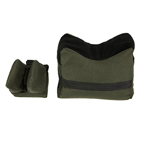 Sharplace Gewehrauflage Set Outdoor Jagd Sport - Armeegrün von Sharplace