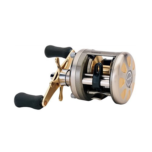 Shimano Cardiff Baitcastrolle 4+1 Kugellager (5.8:1), 0068-0421, 201A Left Handed, 201A (Left Hand) von SHIMANO