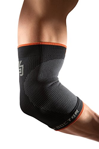 Shock Doctor Server Compression Elbow Sleeve, SVR Compression Elbow Sleeve, schwarz, Large von Shock Doctor