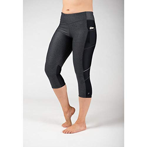 Skirt Sports Damen Capri, Damen, Sport Treiben & Fitness, Pocketopia Capri, Rauche Kompression, Large von Skirt Sports